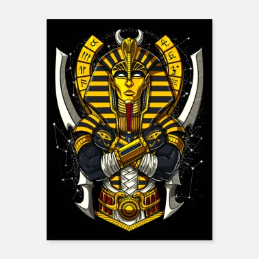 Egyptian King Egyptian Pharaoh Tutankhamun - Poster