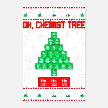 Christmas Chemistry - Poster
