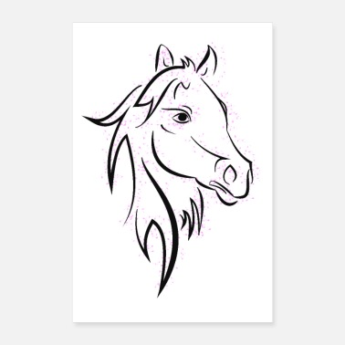 Horse Manure Horse - Poster