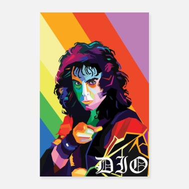 Ronnie James Dio - Poster
