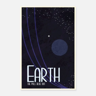 Space Earth Poster - Poster