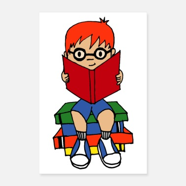 Read First Day Of School - Love Books Love Reading - Poster 24x36