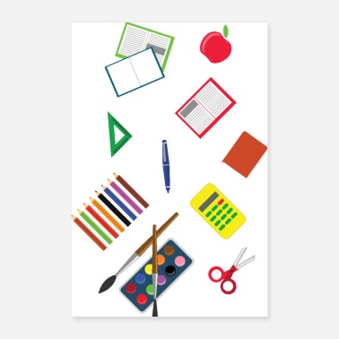 Kindergarten Back to school - Poster 24x36