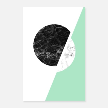 Scandinavian Modern Scandinavian Black And White Art - Poster