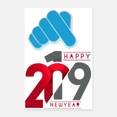 Celebrate new year celebration - Poster 24x36