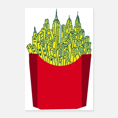 French Fries French Fries City - Poster