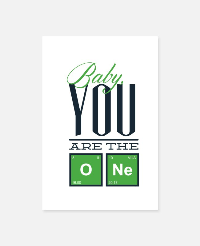 Mummy Posters - Baby you are the one - Posters white