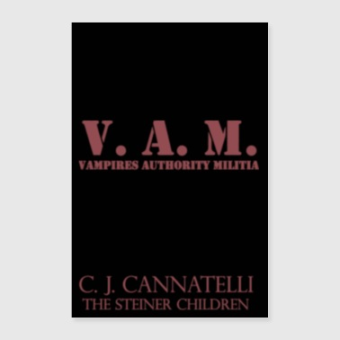 V.A.M. Poster - Blood Red - Poster 24x36