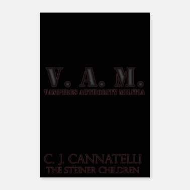 Vampire V. A. M. Poster - Gunmetal Glow - Poster 24x36