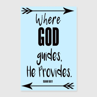 GOD Guides Provides Poster - Poster 24x36
