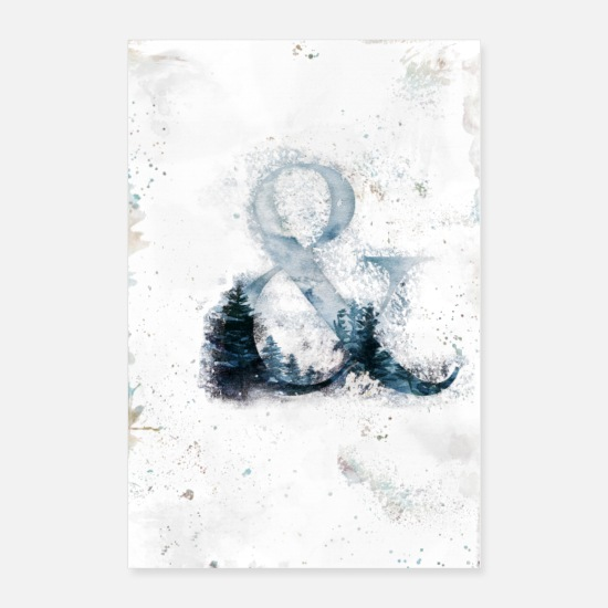 Bestseller Posters - Ampersand Tree - Posters white
