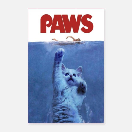 Dogs Posters - Paws - Posters white