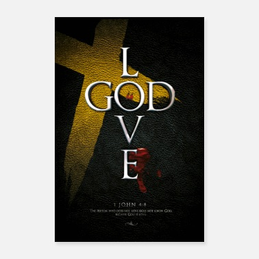 God God is Love - Poster