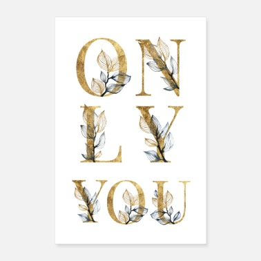 Love You ONLY YOU - Poster