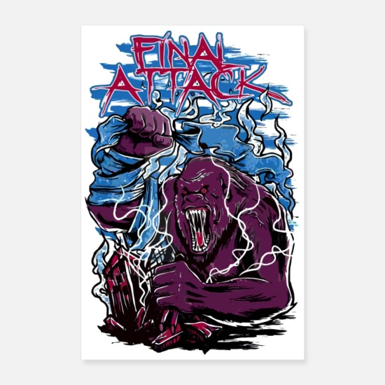 Movie Posters - Final Attack - Posters white