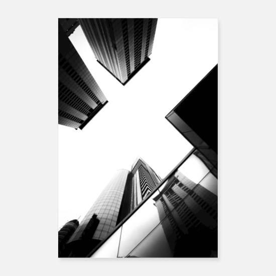 Black Posters - Architecture - Posters white