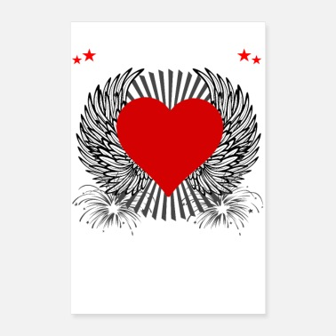 Creature Hearts Are Wild Creatures - Poster 24x36