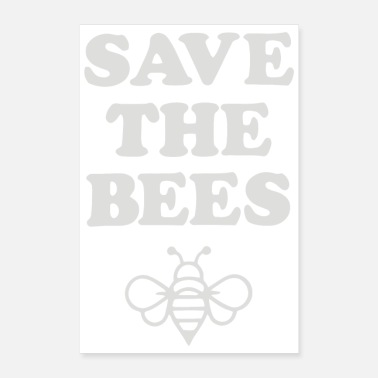 Bee Save the Bees 2 - Poster 24x36