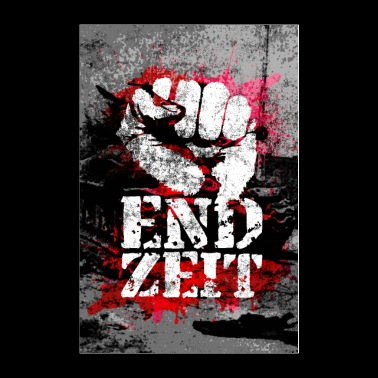 Endzeit Apocalypse Poster - Raised Fist - Poster 24x36