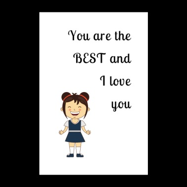 I love you - Poster 24x36