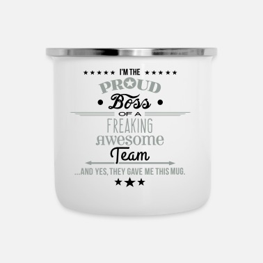 Freaking Awesome Team - Boss Edition 2 - Camper Mug