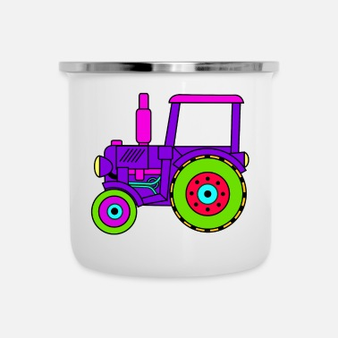Toy toy tractor / toy tractor pink - Camper Mug