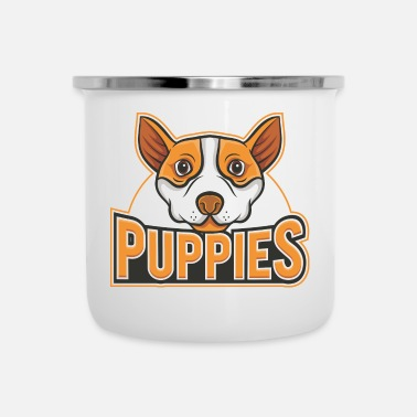 Puppy Puppies - Camper Mug