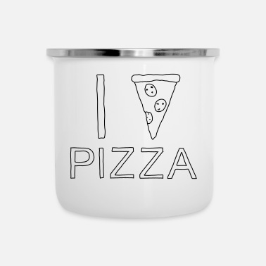I Heart I PIZZA - I heart Pizza - Camper Mug