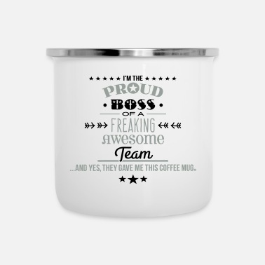 Freaking Awesome Team - Boss Edition - Camper Mug