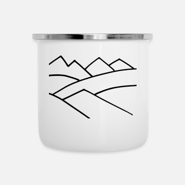 Mountains The Mountains - Camper Mug