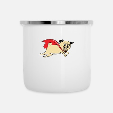 Rescue Rescued by Pug1 - Camper Mug