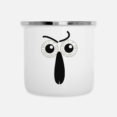 Nose eyes and nose - Camper Mug