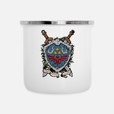 Shield The Shield - Enamel Mug