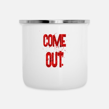 Coming Out come out - Camper Mug