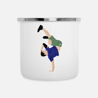 Break Dance Break Dancing - Camper Mug
