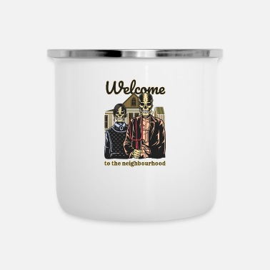 Neighborhood Welcome to the Neighborhood - Camper Mug