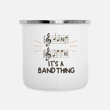 Band Band Geek - It's A Band Thing - Camper Mug