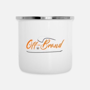 Off-brand Off Brand by Unchecked Apparel - Enamel Mug