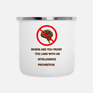 Prohibited Intelligence prohibition - Camper Mug