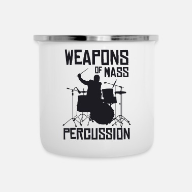Percussion Weapons Of Mass Percussion - Camper Mug