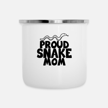 Crawl Snake proud snake mom snake shirt - Camper Mug