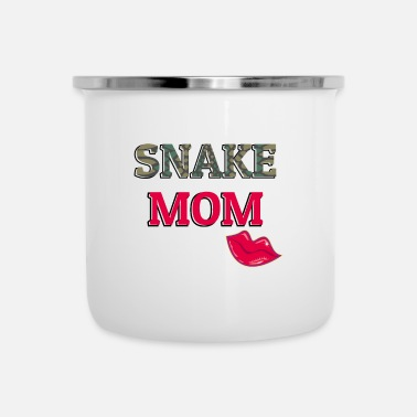 Crawl Snake Snake Mom - Camper Mug