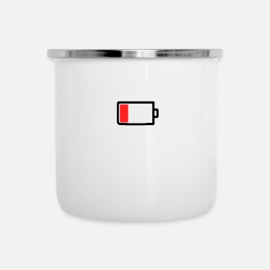 Mobile Phone Mobile phone battery empty - Camper Mug