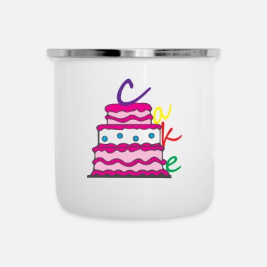 Happy Birthday Happy Birthday Birthday Cake - Camper Mug