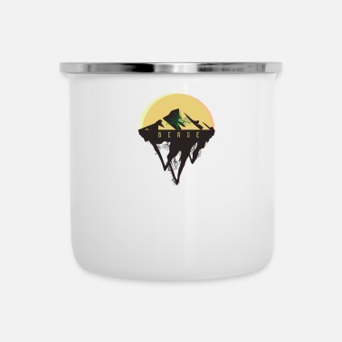 Mountains Mountain, Mountains - Enamel Mug