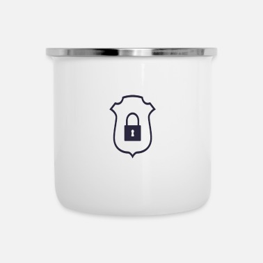 Icon Security Icon - Enamel Mug