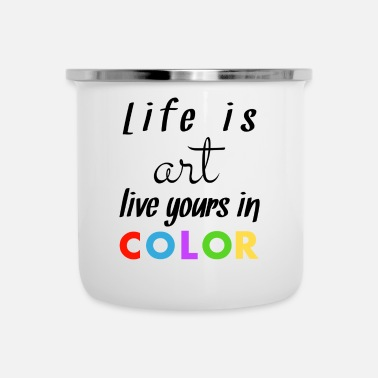 Color Color - Enamel Mug