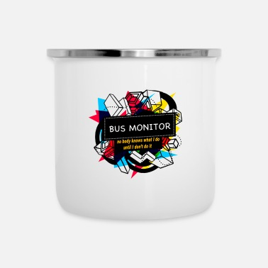 Monitoring BUS MONITOR - Enamel Mug
