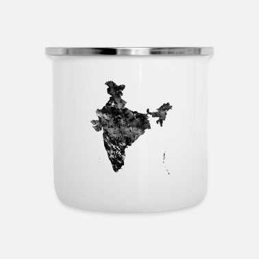 India Map India map - Enamel Mug