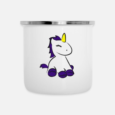Sit Sitting unicorn - Camper Mug